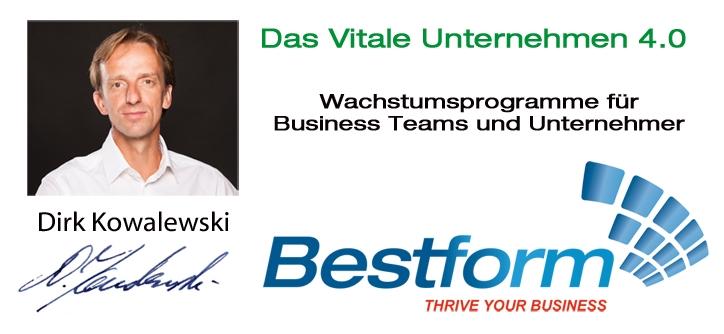 Bestform|Dirk Kowalewski|Das Vitale Unternehmen 4.0